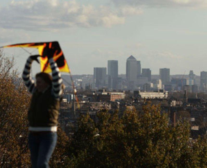 Cheap Views of London Parliament Hill
